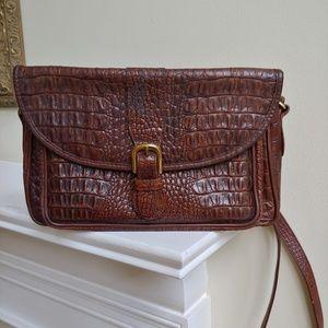 VTG Brahmin l Leather Shoulder  Bag